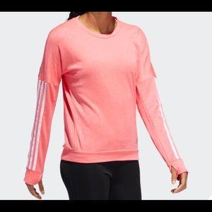 NWT Adidas Women's Response Crew Sweatshirt Med